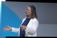 Diane Greene, CEO, Google Cloud, speaking at Google Cloud Next 2018
