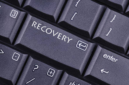 Just press the recovery button, duh