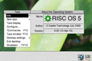 Screenshot of RISC OS 5