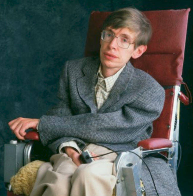 Stephen Hawking's papers, wheelchair put up for sale