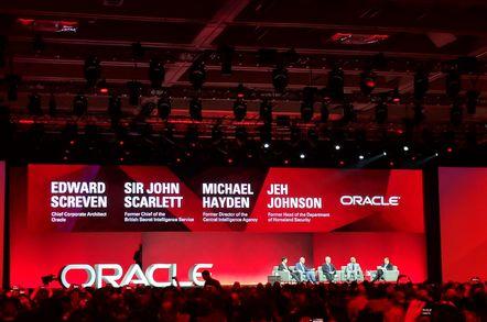 Oracle OpenWorld 2018 Intelligence Panel