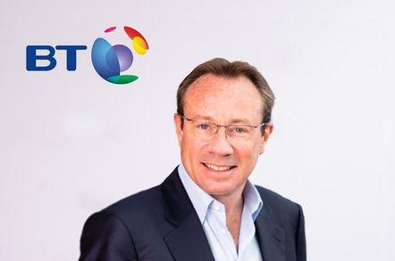 Philip Jansen, chief exec, BT plc. Pic: BT