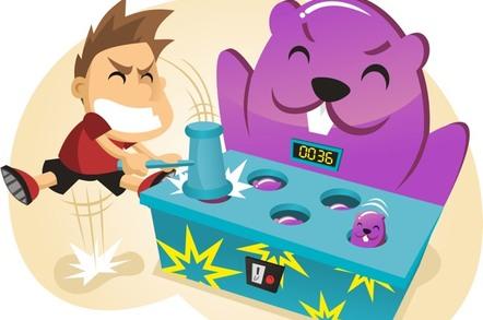 Whac-A-Mole illustration