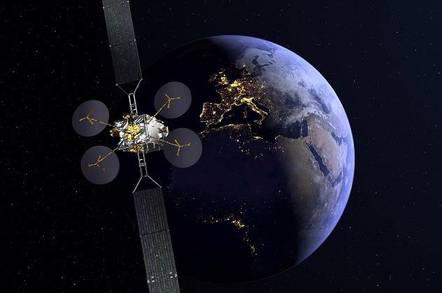 Eutelsat KONNECT (credit: Thales Alenia Space UK)