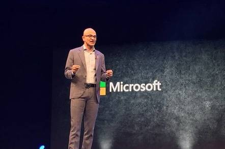 Satya Nadella at FutureDecoded