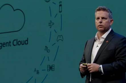Microsoft Executive Vice President Jason Zander speaks at Future Decoded in London