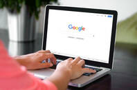 Shutterstock image of a google search bar