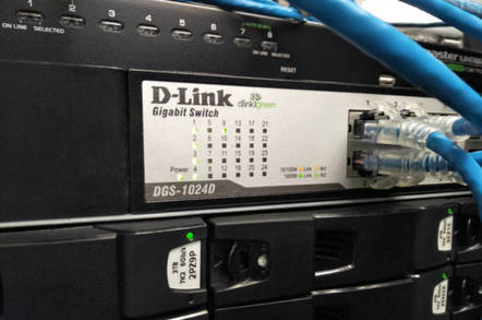 D-Link networking equipment