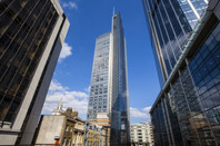 Heron Tower (110 Bishopsgate) in the City of London - salesforce is a tenant