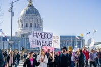 #MeToo protest in San Francisco
