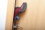 Boot opening door