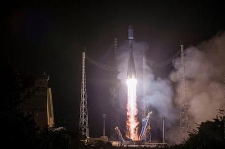 MetOp-C liftoff