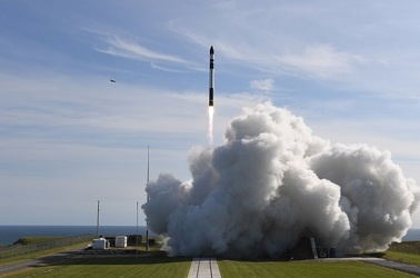 Rocket Labs' It's Business Time mission launch