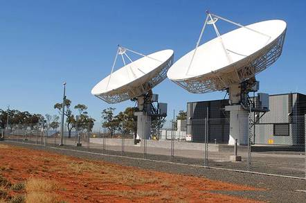 SkyMuster ground station in Bourke