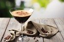 Espresso in martini glass