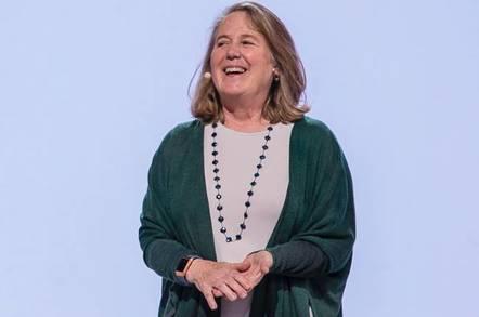 Google's PR pic of Diane Greene