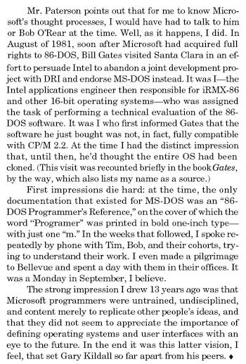 John Wharton, Microprocessor Report