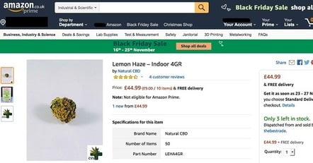 Lemon Haze on Amazon