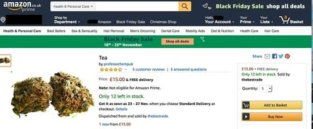 Tea on Amazon