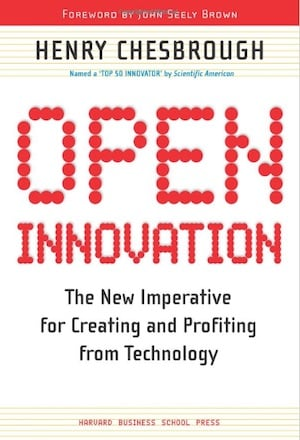 Chesborough Open Innovation book cover