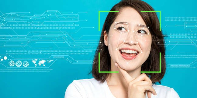 AI facial recog –it's all about as terrifying as this hokey stock picture suggests
