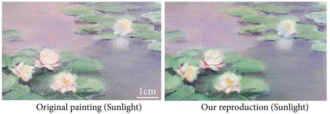 Taken from Deep Multispectral Painting Reproduction via Multi-layer, Custom-Ink Printing