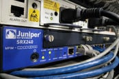 Closeup on juniper networks' services gateway srx 240
