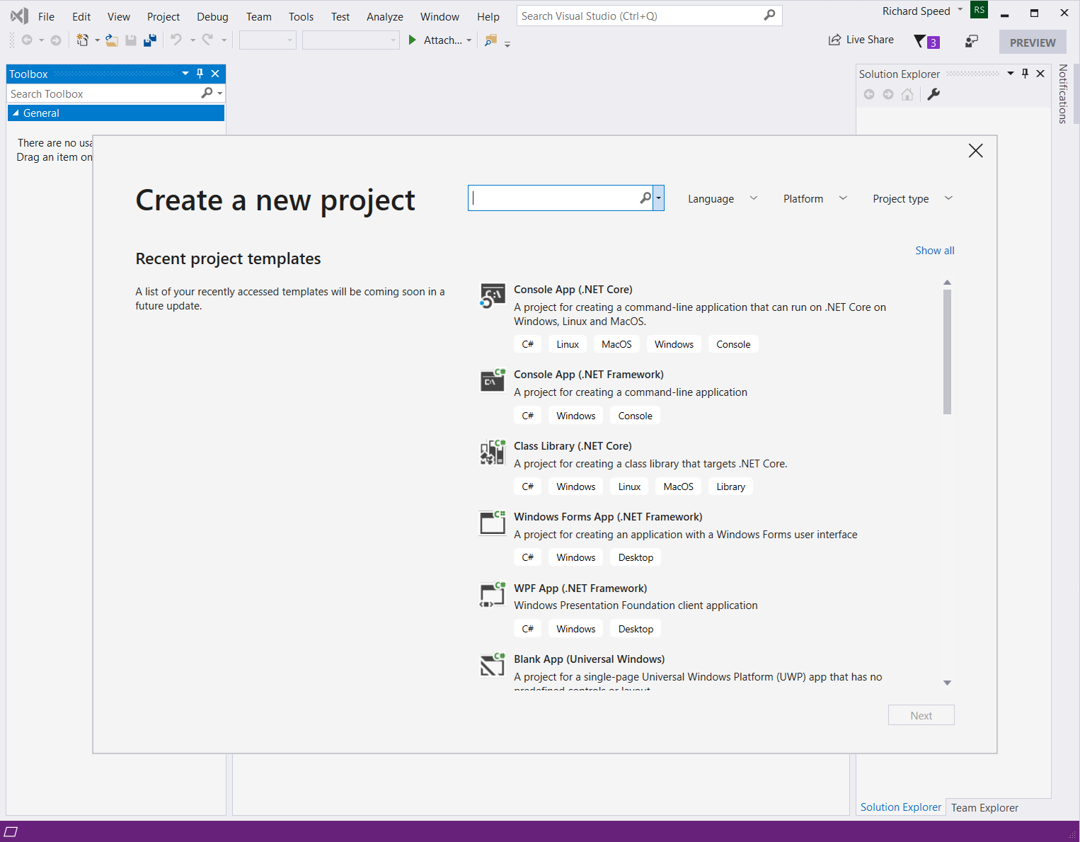 How to create android apps in visual studio 2020