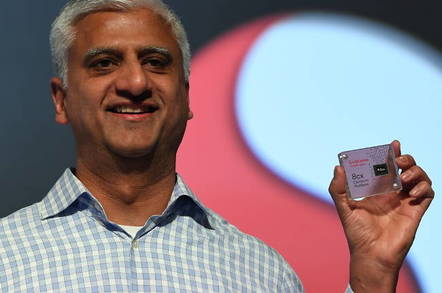 Sanjay Mehta, SVP Compute Products, Qualcomm Technologies, Inc. Shows Off The Company's Latest Flagship PC Platform, The Snapdragon 8cx