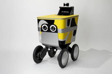 Postmates Serve robot