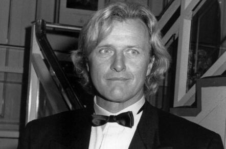 Rutger Hauer (1990), the Dutch actor who played replicant Roy Batty in Blade Runner