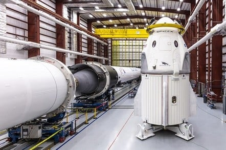 SpaceX Crew Dragon (credit: SpaceX)