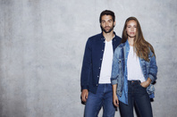 Duo in double denim
