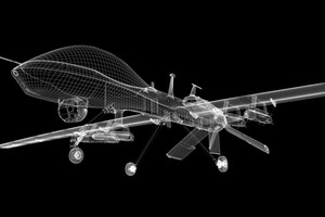 Drone, image via Shutterstock