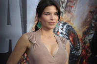 Lauren Sanchez at a movie premiere