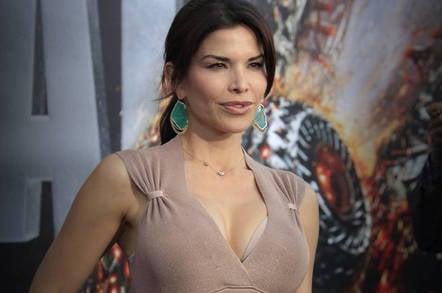 Lauren Sanchez at a movie premiere