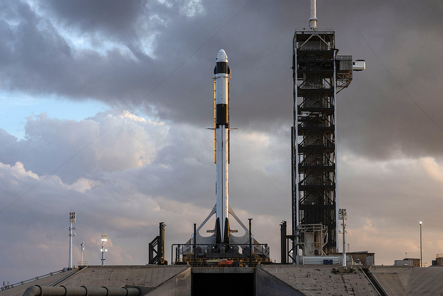 SpaceX Test Fires Rocket for 1st Crew Dragon Launch in February