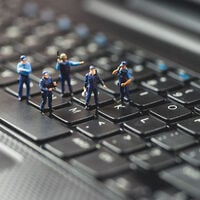keyboard cops