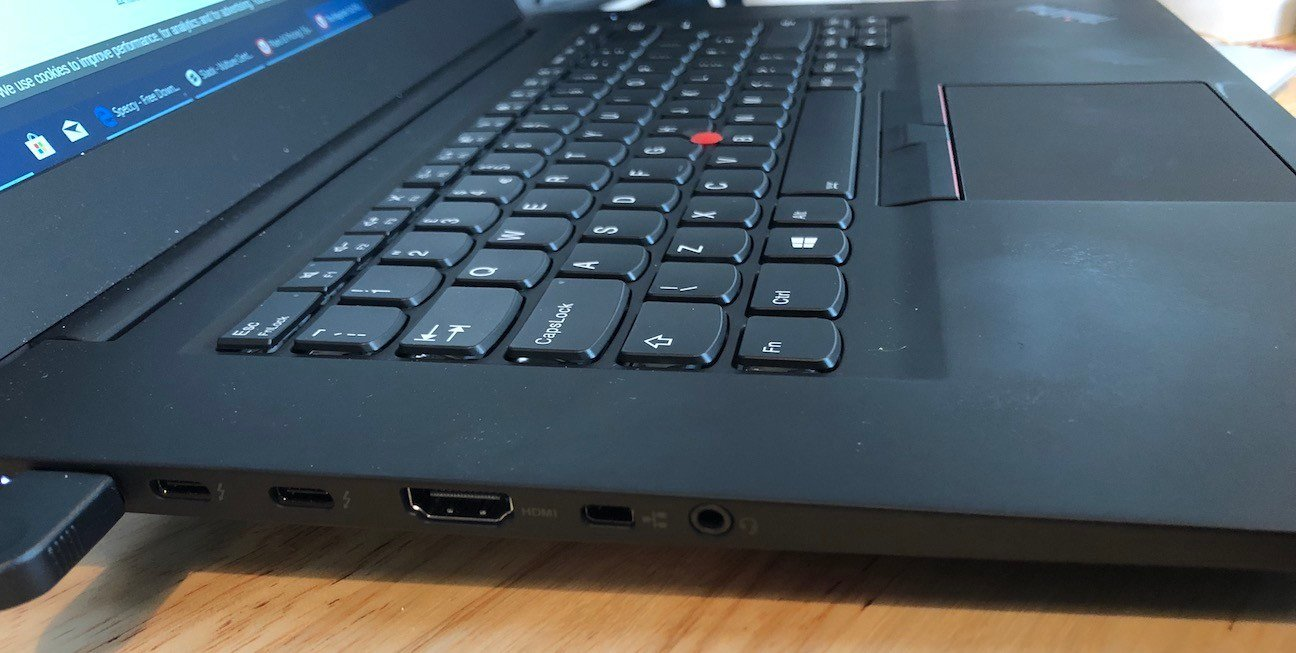 Lenovo ThinkPad P1: Sumptuous pro PC that gets a tad warm