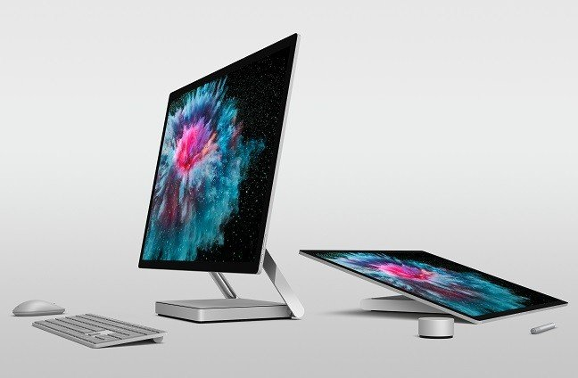 Almost £5k for a deskslab: Microsoft's Surface Studio 2 hits