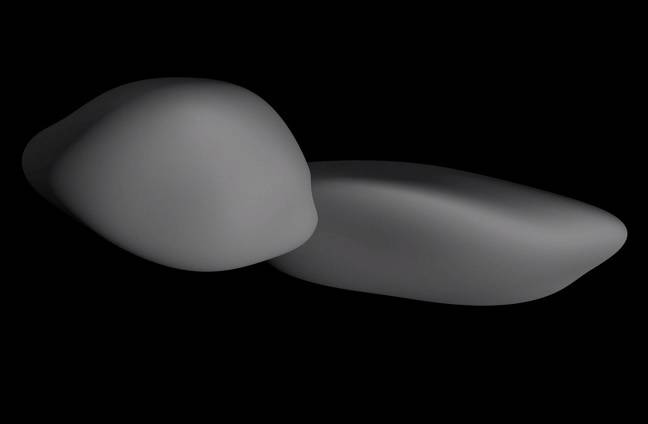 photo of Holy planetesimal formation, Batman! Ultima Thule's no snowman – it's a friggin' pancake image