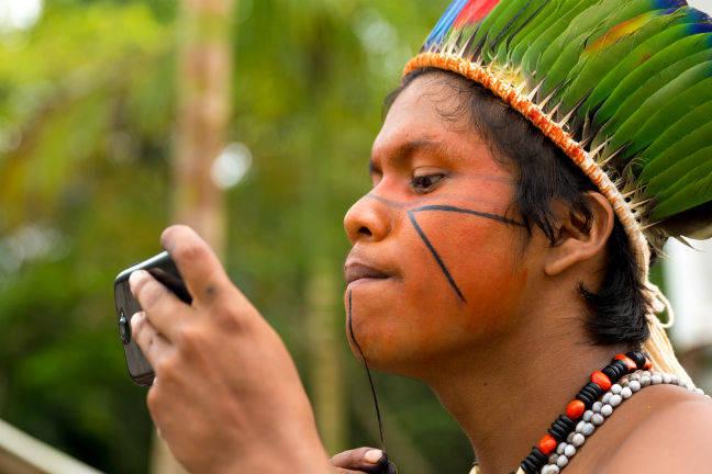 photo image Brazil lights the Kindling as dot-Amazon saga roars back into life