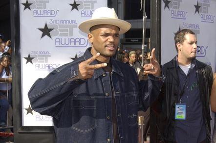 RUN (Joseph Simmons) of RUN-DMC at the 3rd Annual BET (Black Entertainment TV) Awards