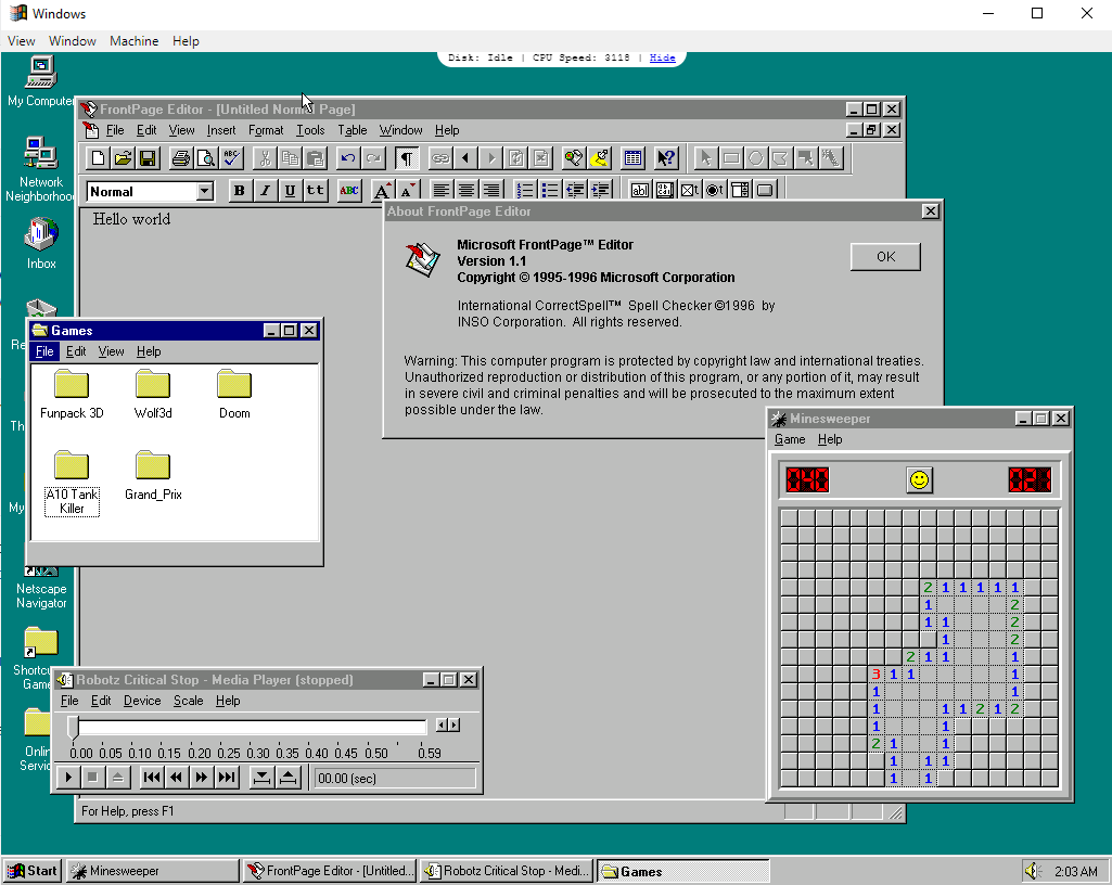 photo image Ever yearn for the Windows 95 shutdown sound? TADA! There's an Electron app for that