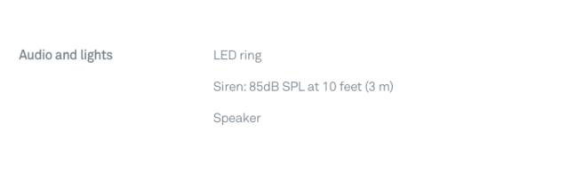 Google Nest specs