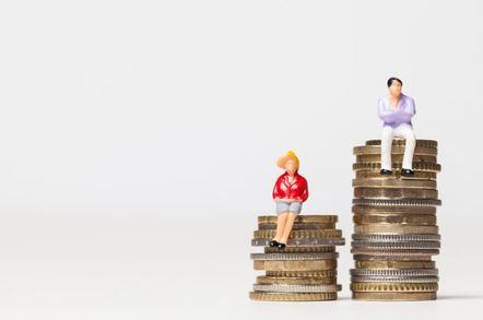 Pay gap illustration