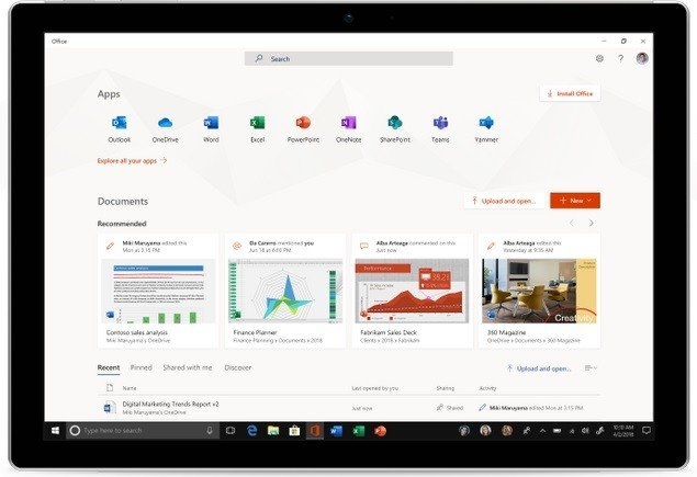Microsoft's New Office App for Windows 10 Now Available to Everyone