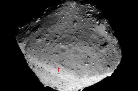 Hayabusa 2 Landing Spot