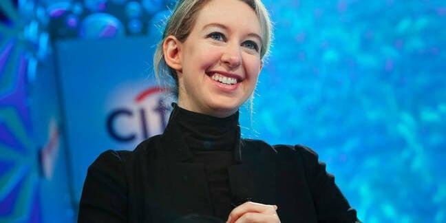 Theranos founder Elizabeth Holmes