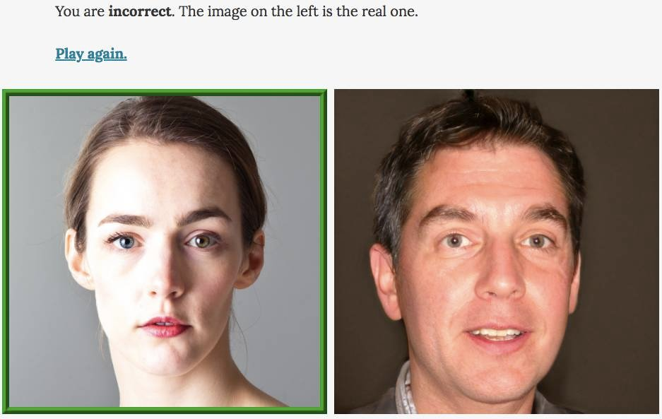 Can you tell real faces from fake AI-created ones? It's tough! Plus